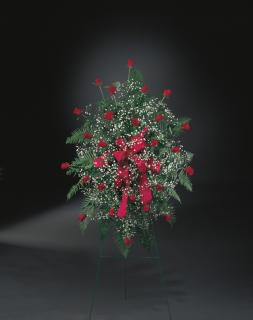 Large Standing Rose Spray