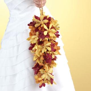 Orchid Teardrop Bouquet